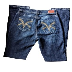 VGS Denim For All Times Slim Boot Size 8 Jeans